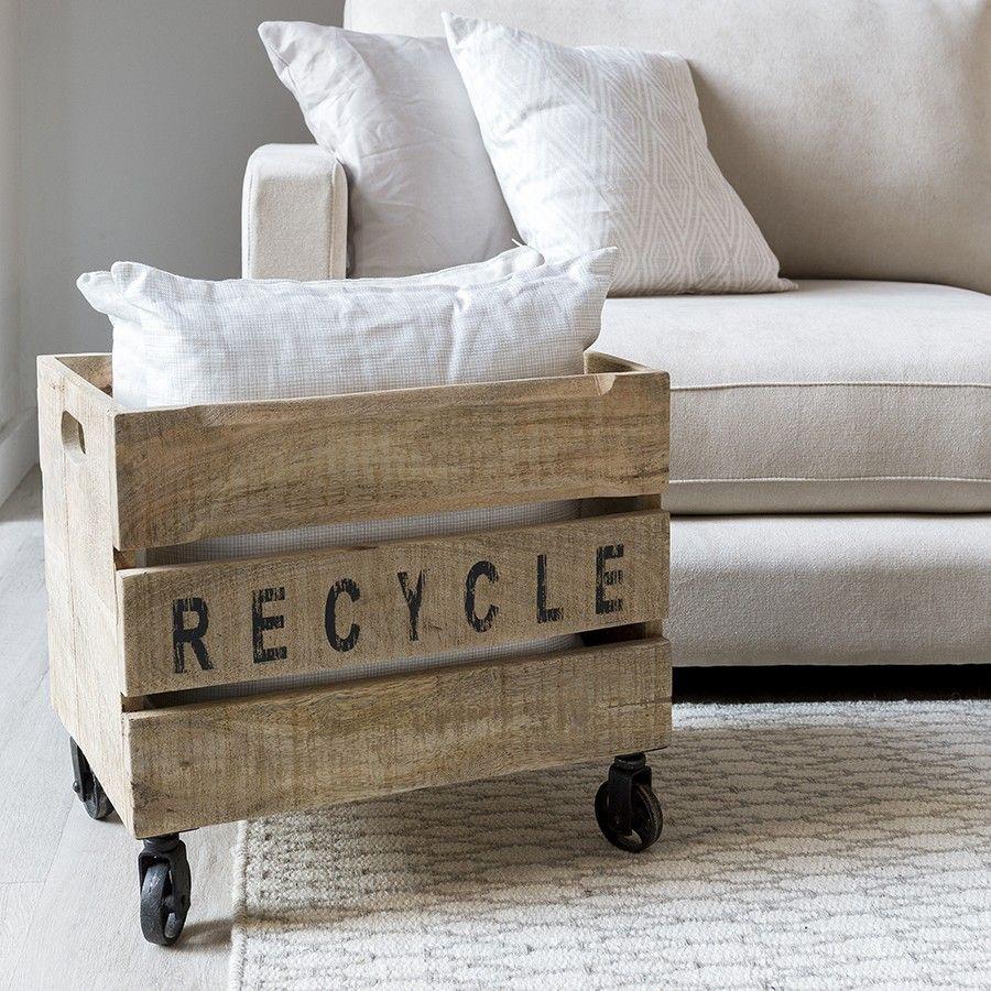 Luga caixa madeira
