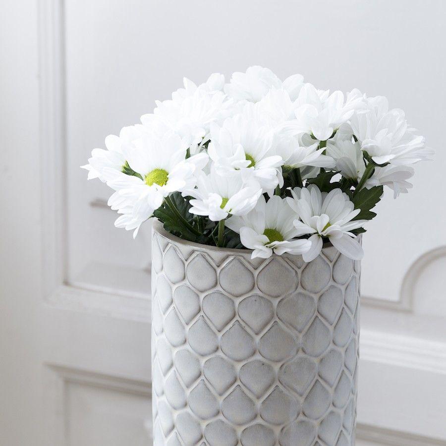 Tian jarrón blanco
