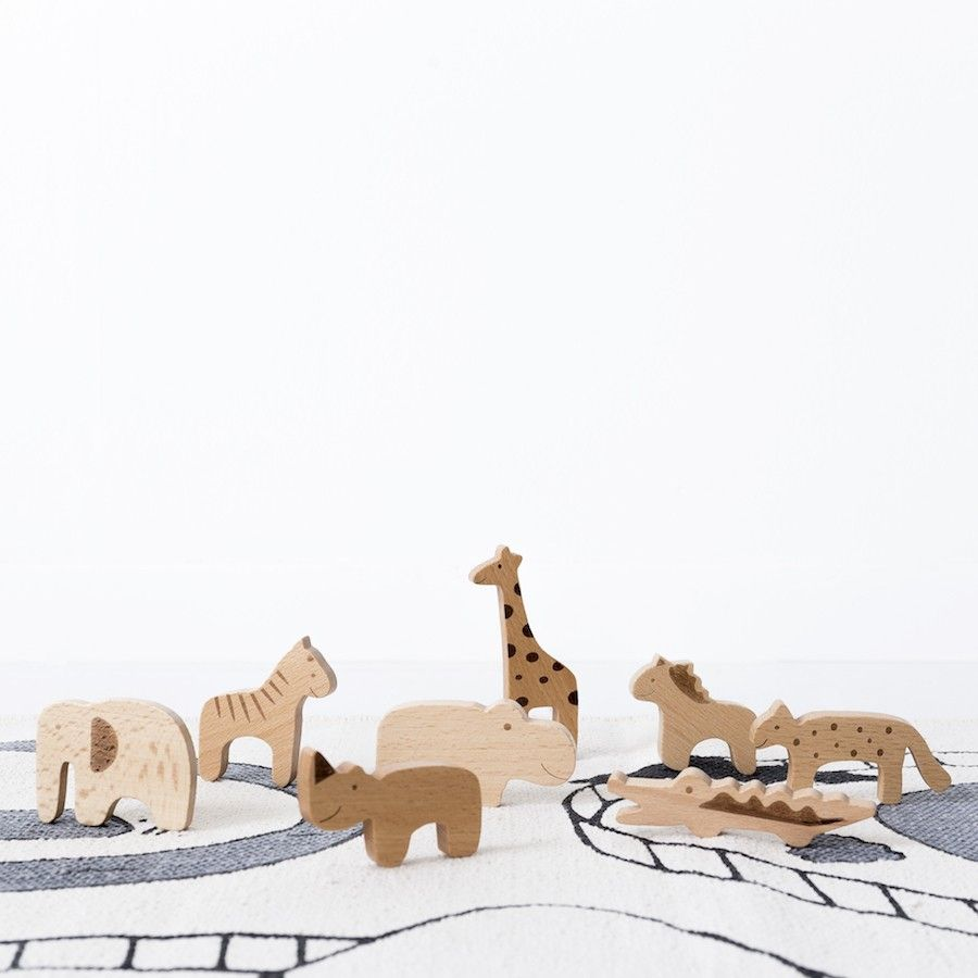 Zoo set animales juguete