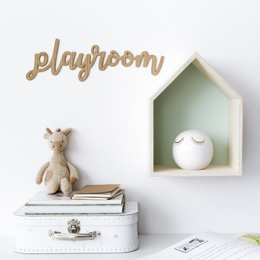 Play Room Letreiro