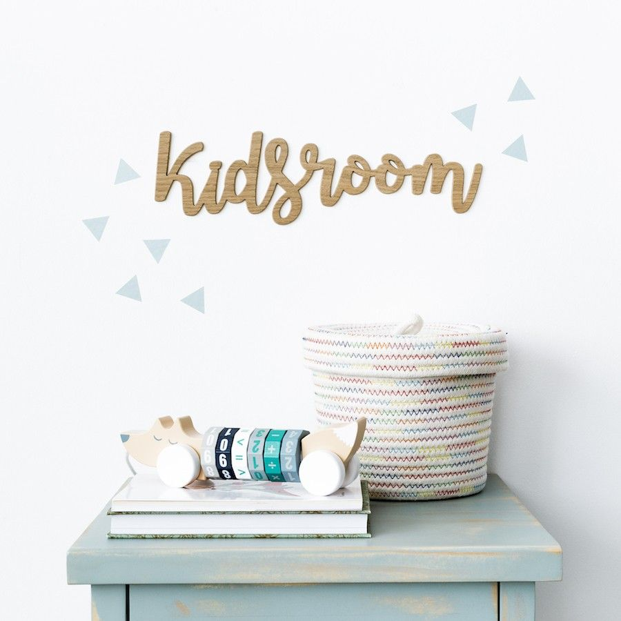 Kids Room Letrero