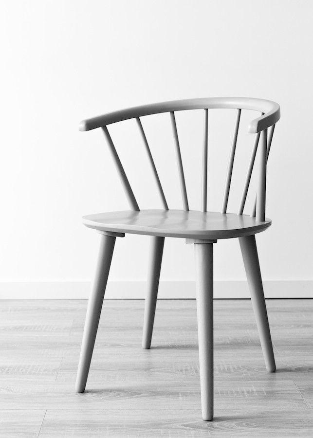 Erin cadeira cinzenta