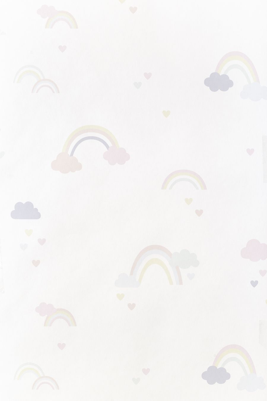 Rainbow cor papel