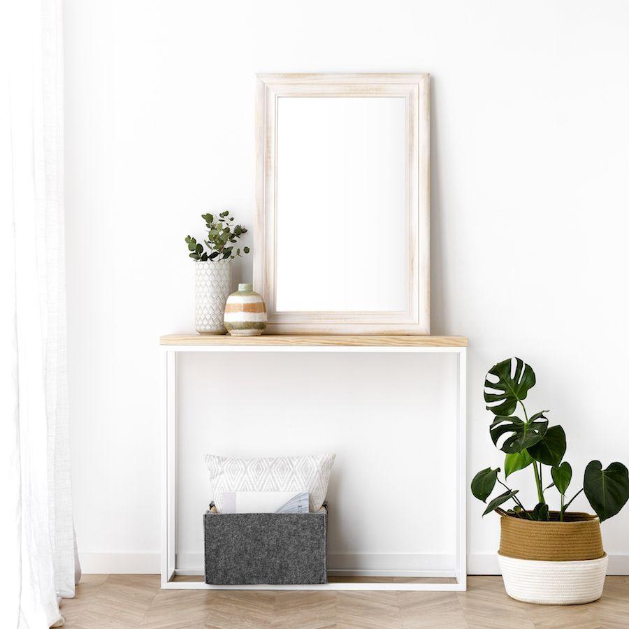 Nima Espelho Branco 60X90
