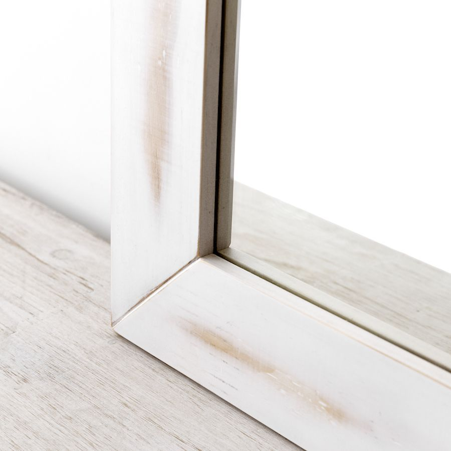 Espelho Lise branco 90X90