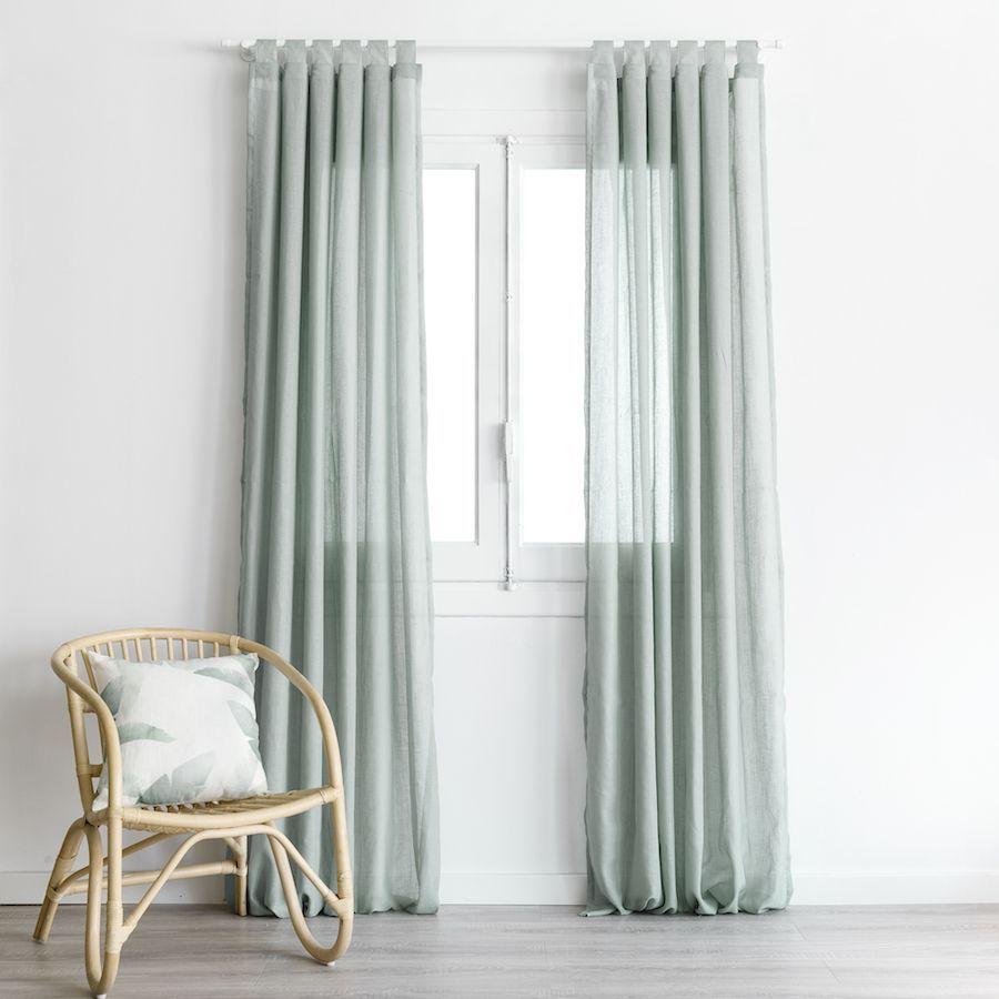 Aris cortina mineral blue