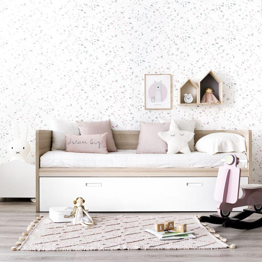 Vinta cama nido o con cajones kenay home for Estructura cama nido 105