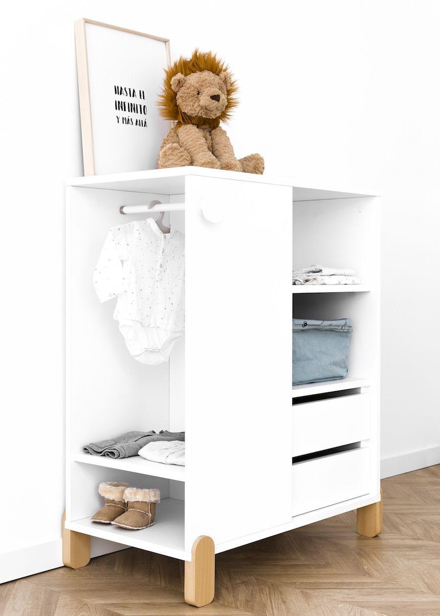 Tale armario con cajones