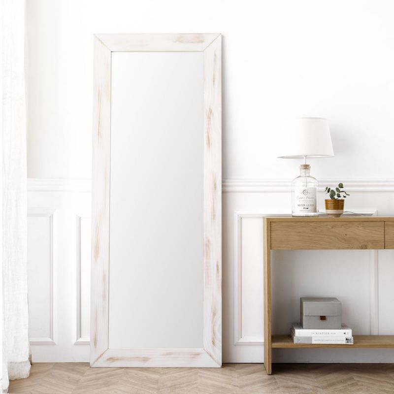 Lise espejo blanco 180X70