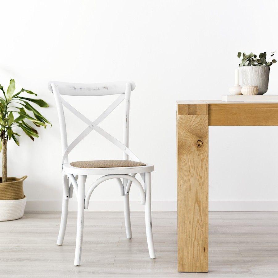Contres silla blanca