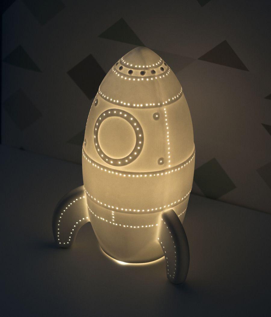 Space lámpara