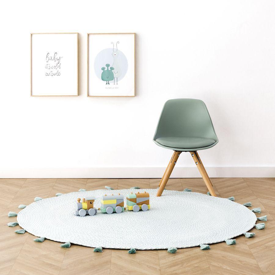 Circle Alfombra Menta 120x120