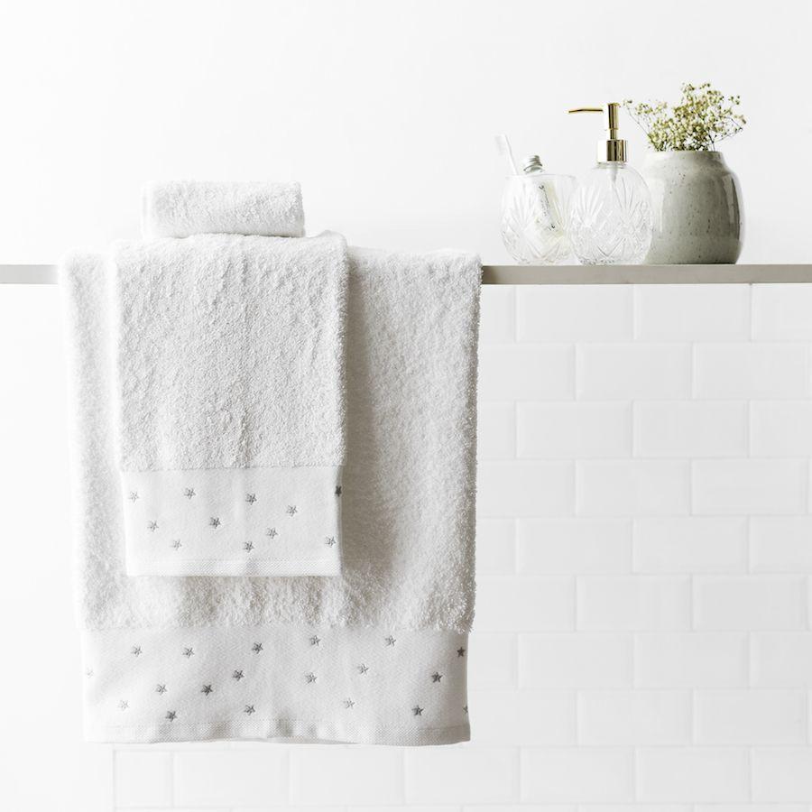 Stars set de toallas gris