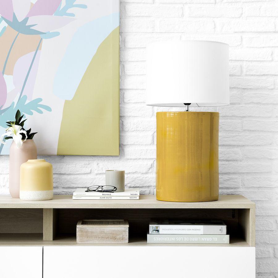 Classic lámpara mostaza
