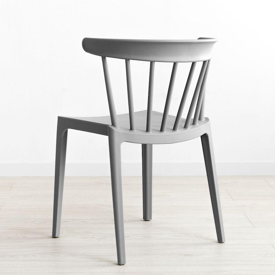 Nobu cadeira cinzenta