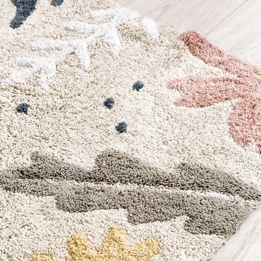 Libby tapete beige lavável