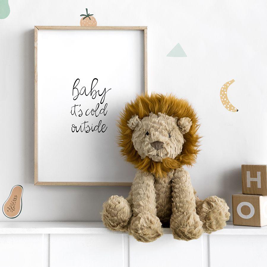 Fufy leão peluche