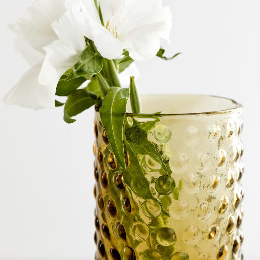Doti jarrão de vidro castanho