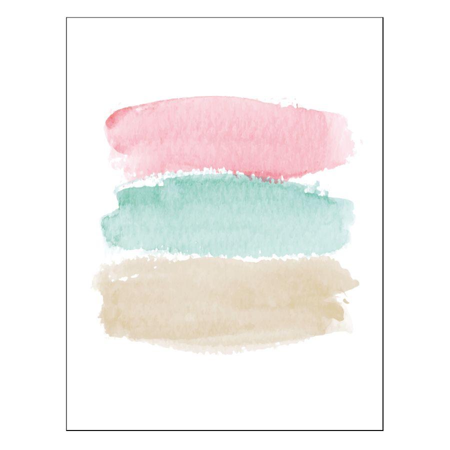 Color pastel lámina A3