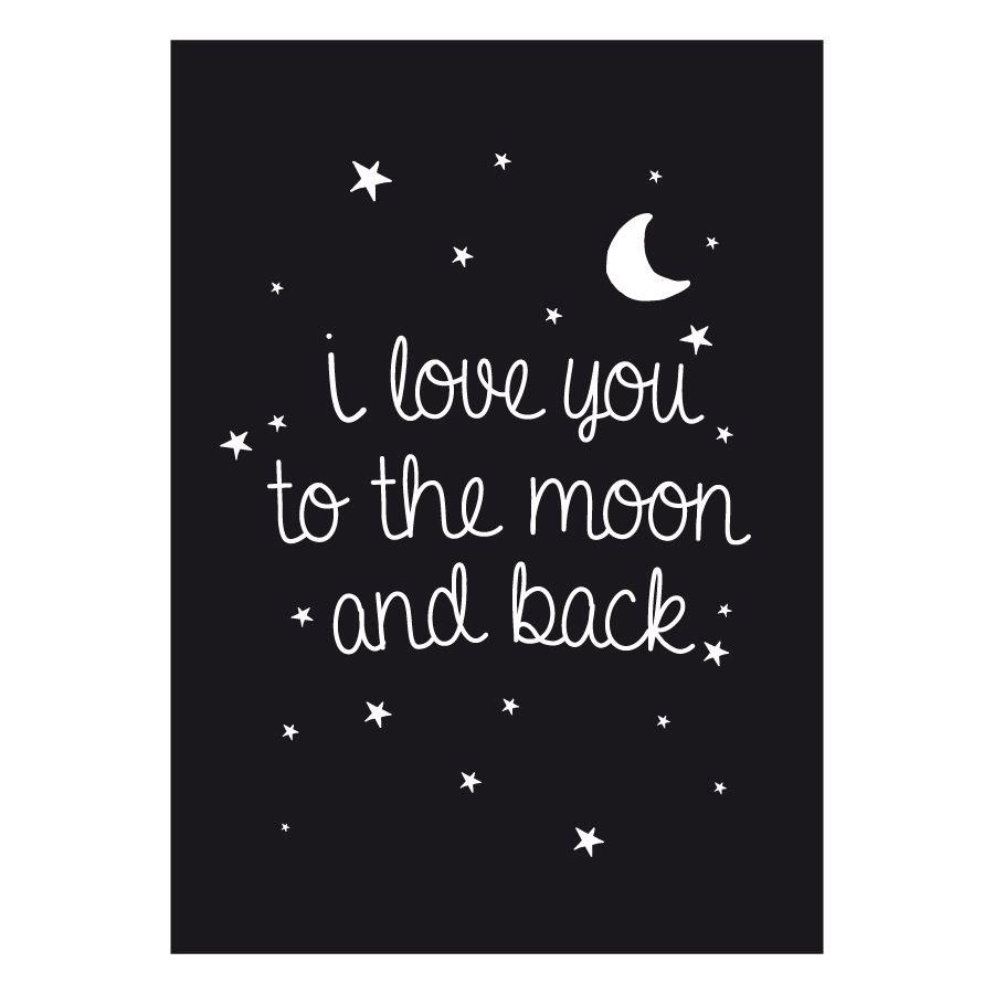 Moon lámina A3