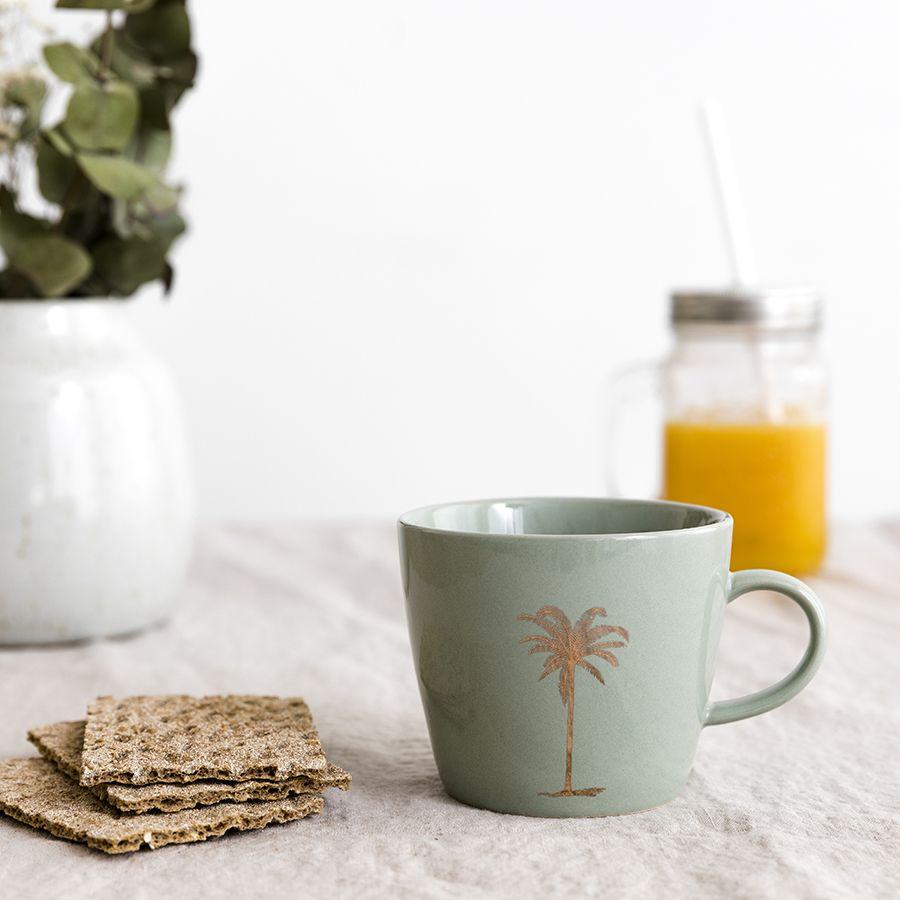 Palm taza verde