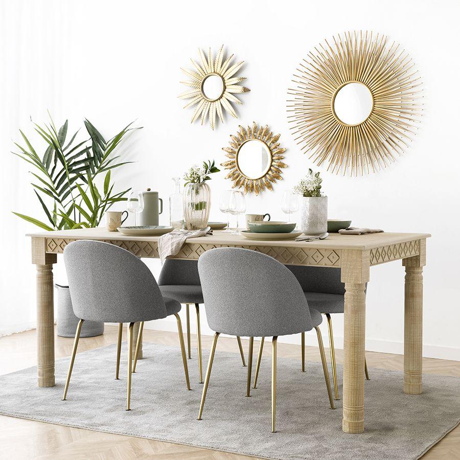 Flower mesa de sala de jantar 180