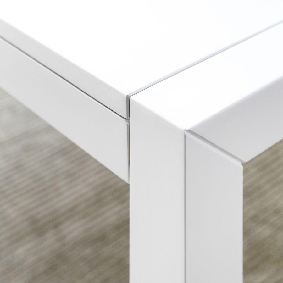 Lane mesa branca extensível 140