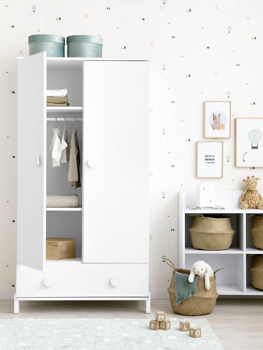 Tale armario blanco