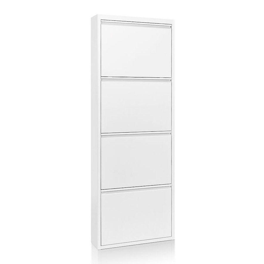 Less Zapatero 4 Puertas Blanco
