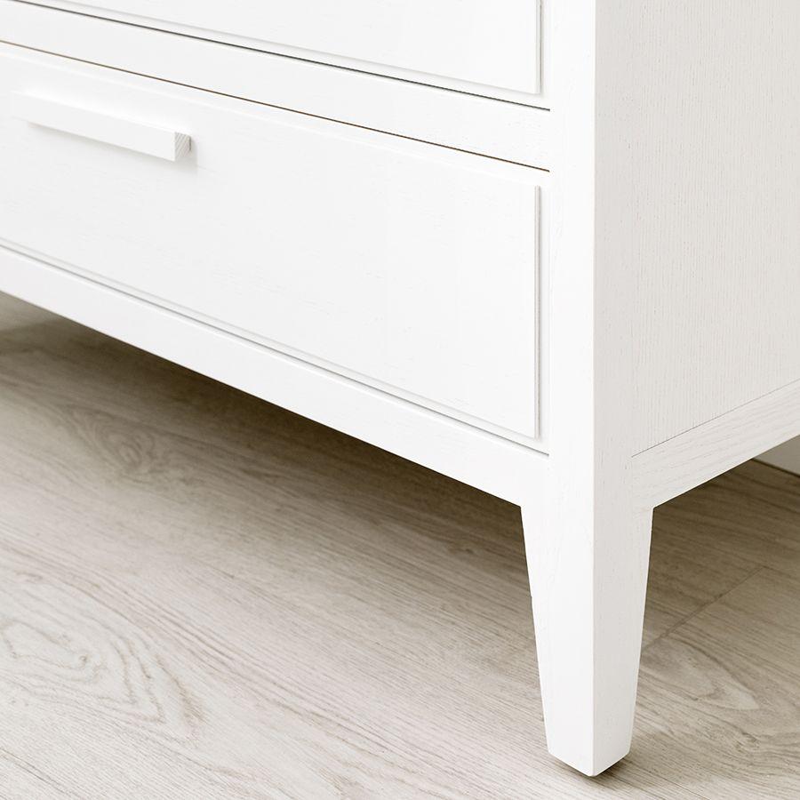 Neolm cómoda blanca