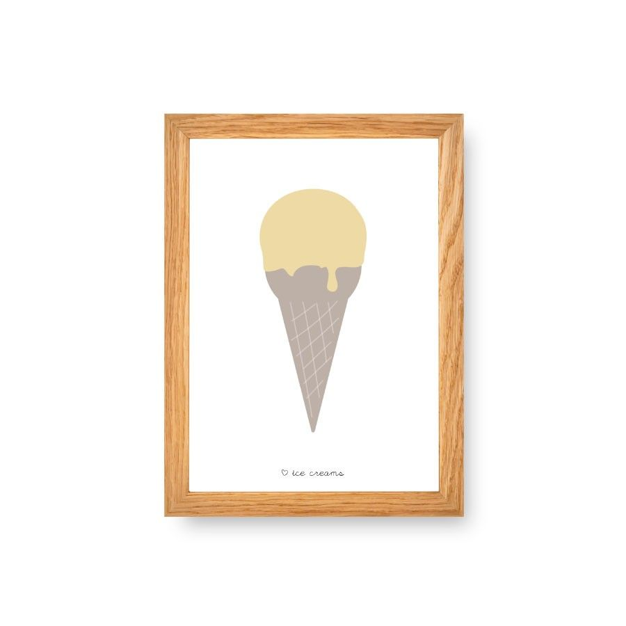 Ice cream limón A4