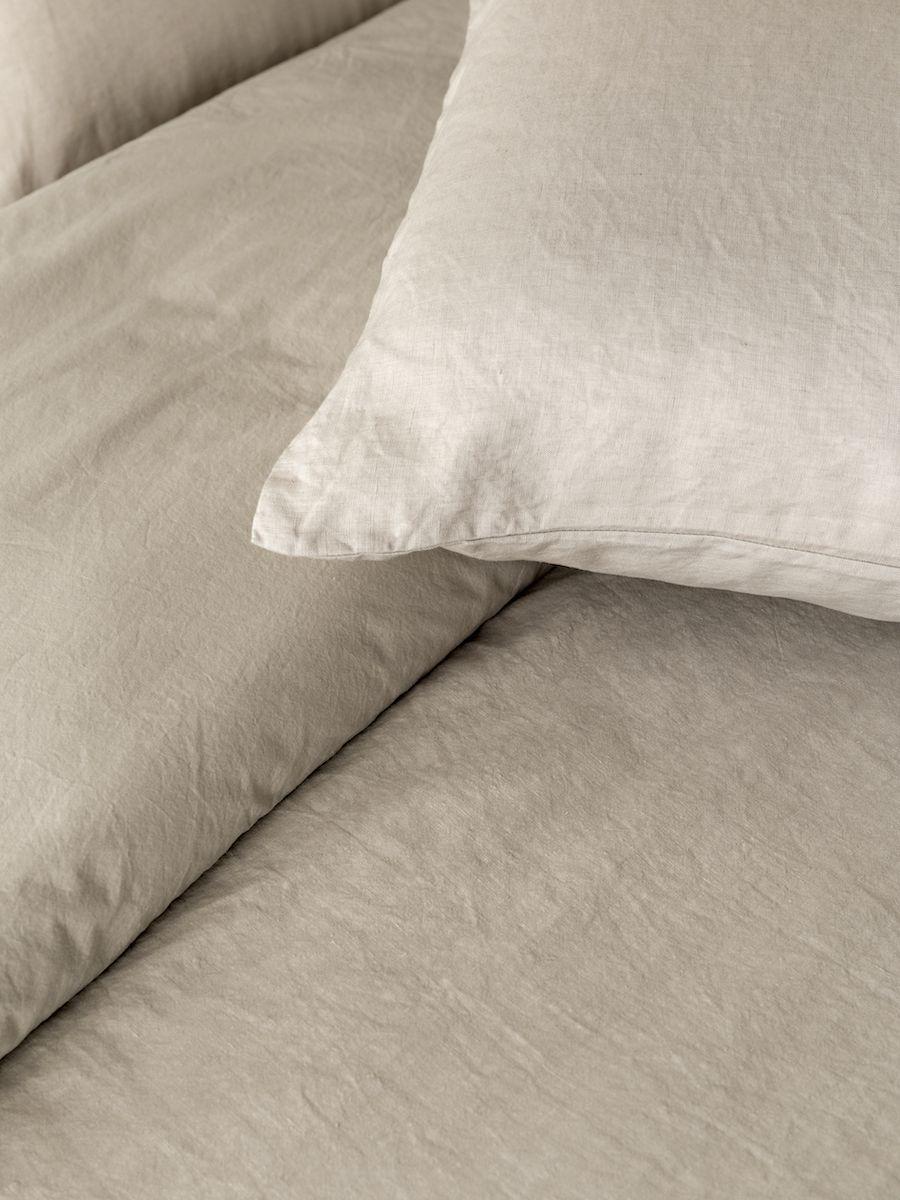 Lino funda nórdica natural 240x220 cm