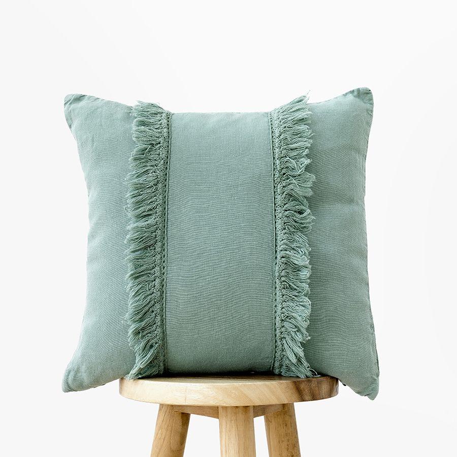 Aline almofada 45x45 mineral blue
