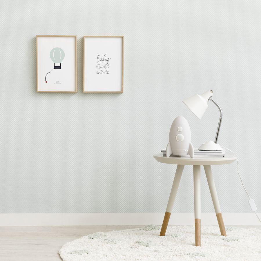 Baby wallpaper menta