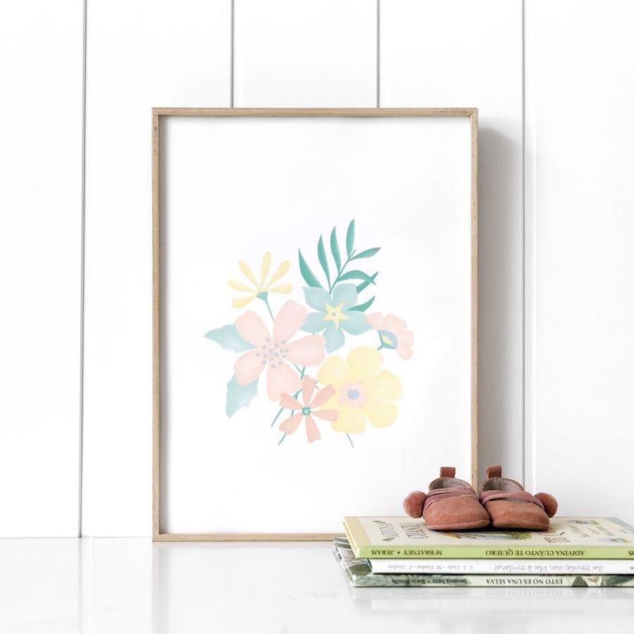 Libby bouquet lámina 21x30 cm
