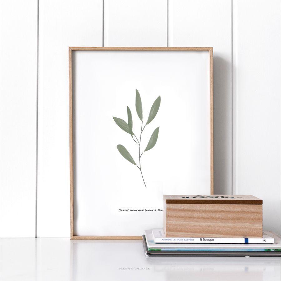 Branch lámina 30x40 cm