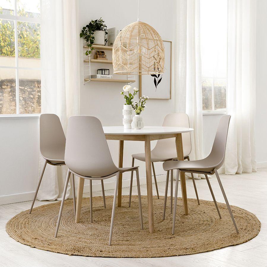 Pack mesa Basic y 4 sillas Minno
