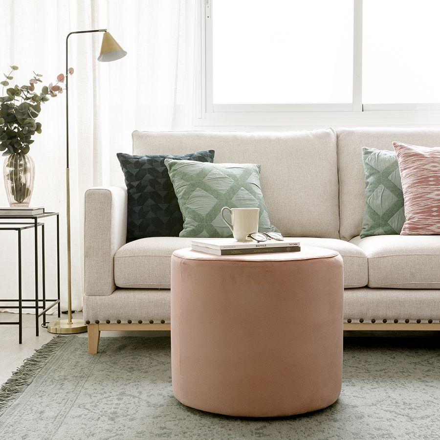 Harmony puf velvet rosa 50 cm