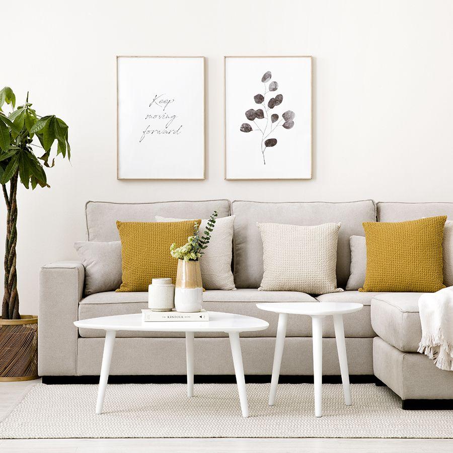Onoh mesa de centro 85 blanca