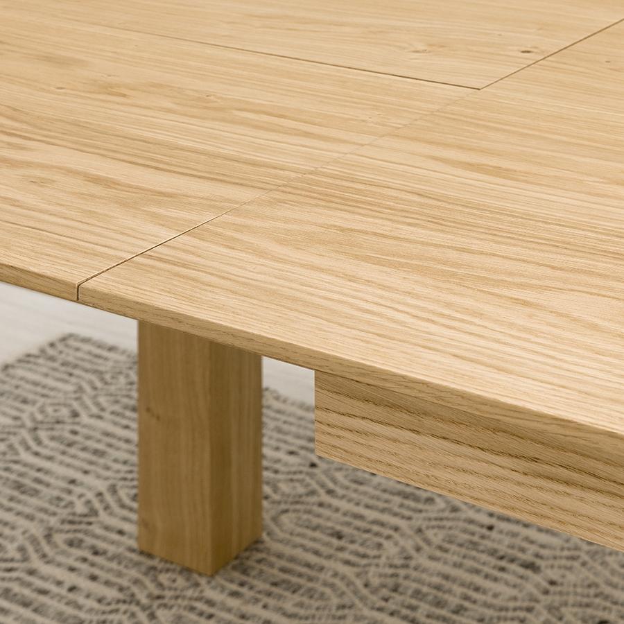 Gone mesa de comedor roble anudado 160