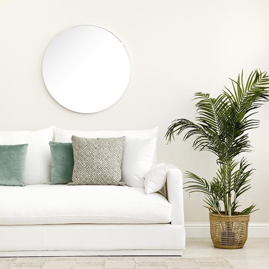 Egel espejo blanco grande