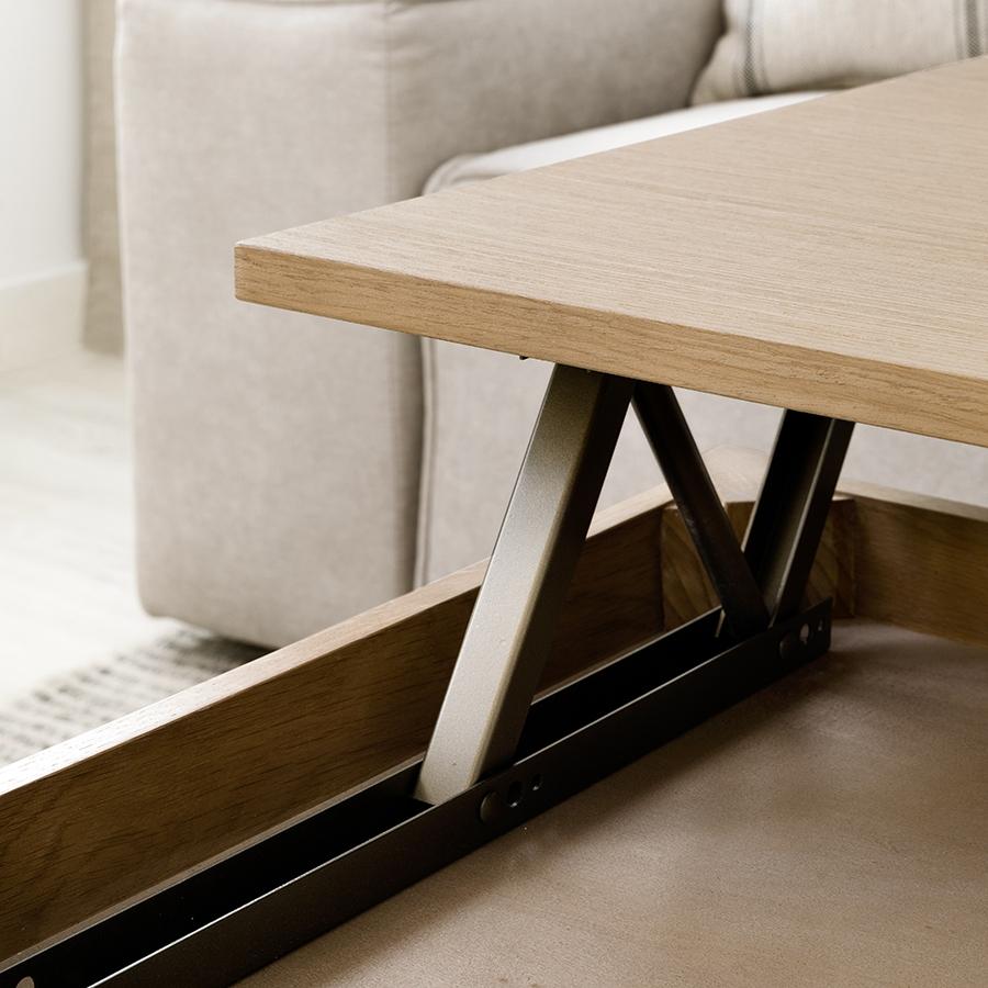 Even mesa de centro elevable