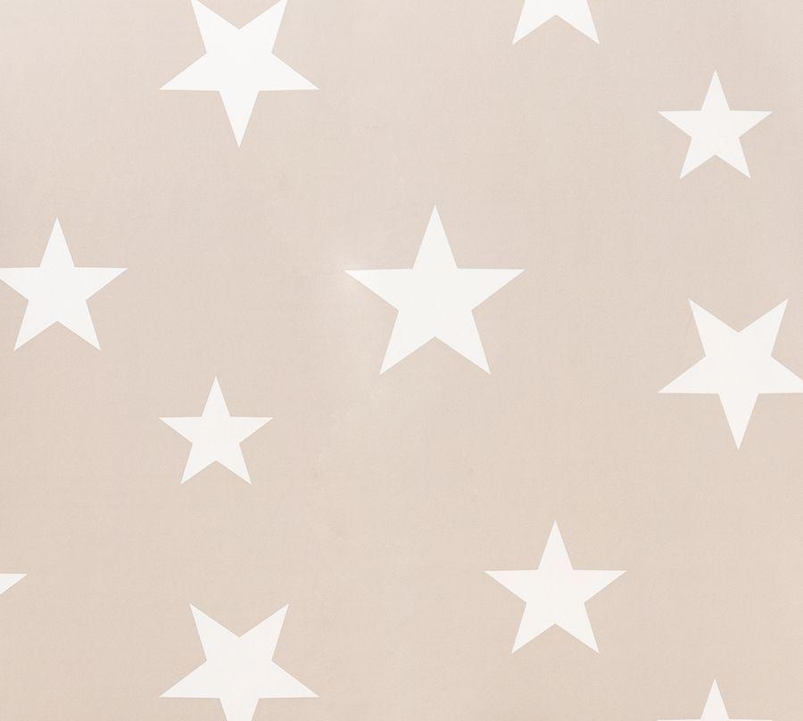 Stars wallpaper beige/bianco