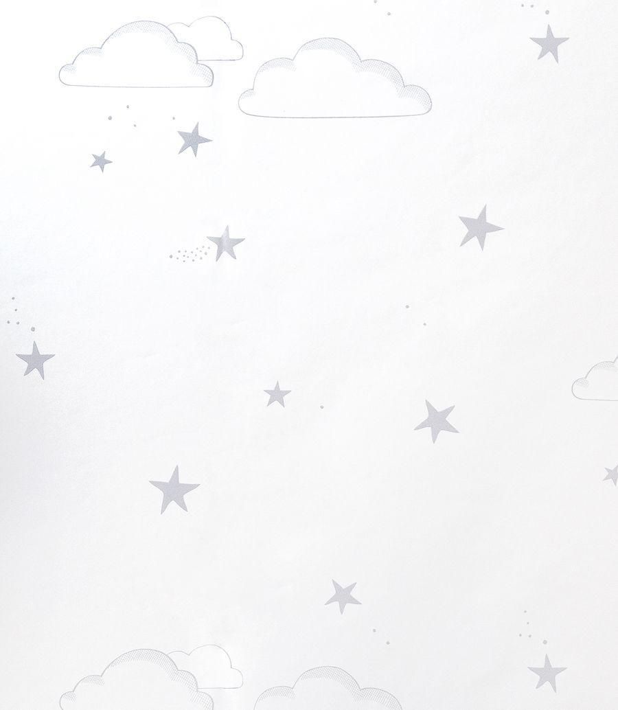 Sky wallpaper grigio/bianco