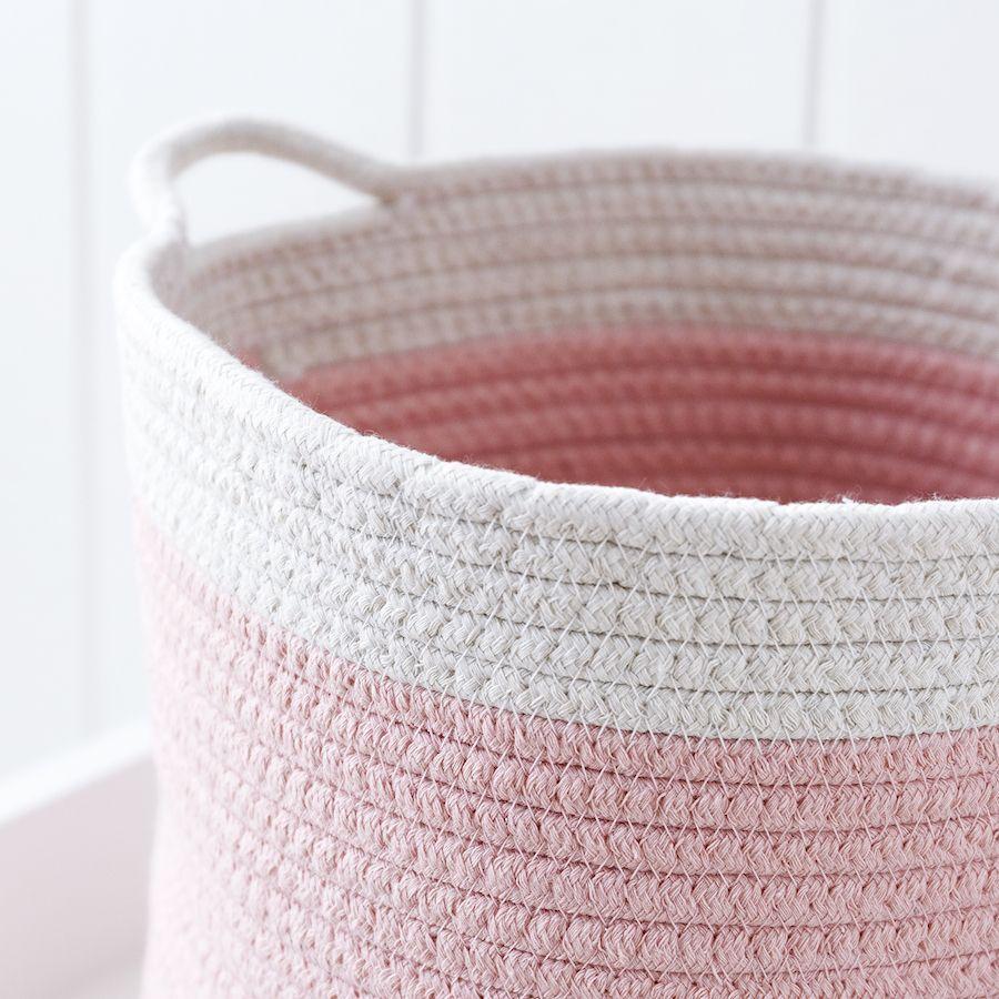 Rise cesto rosa