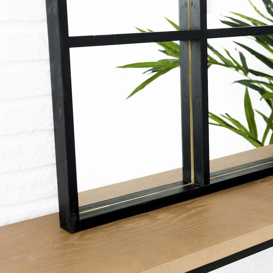 Luci specchio 60x90 nero