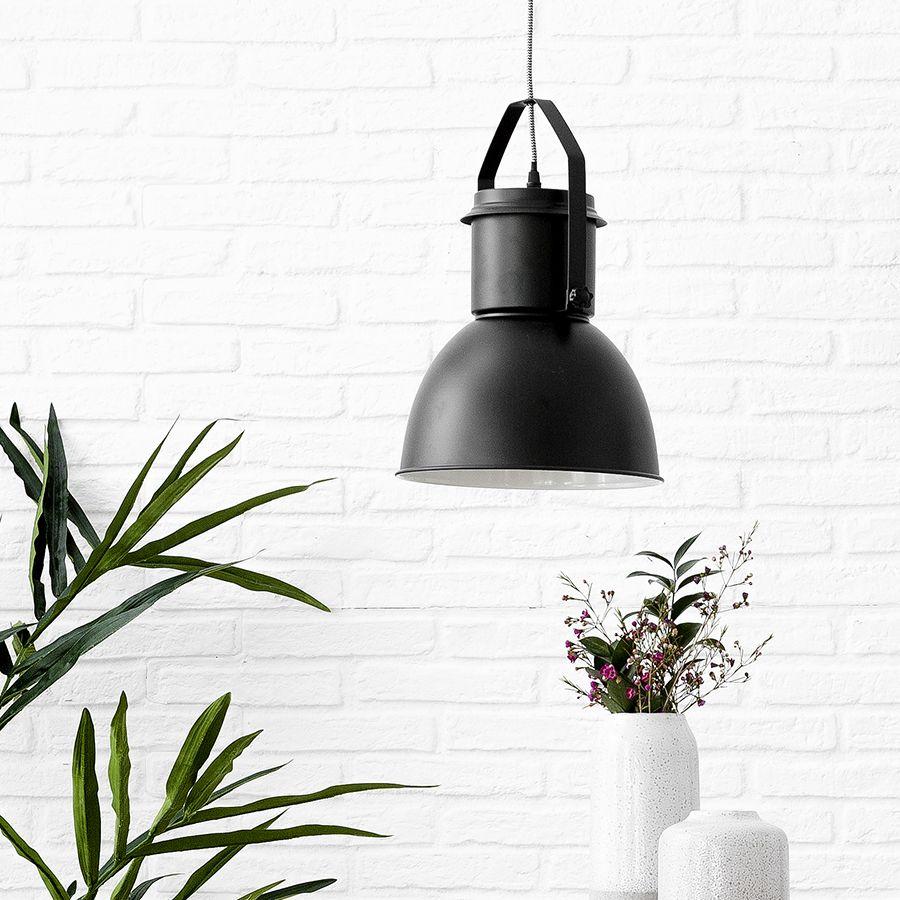 Mium lámpara de techo negra
