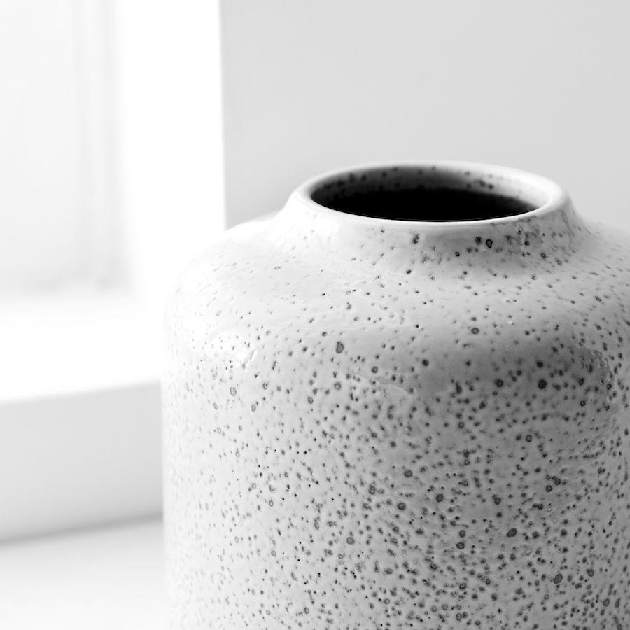 Rustic vaso grigio
