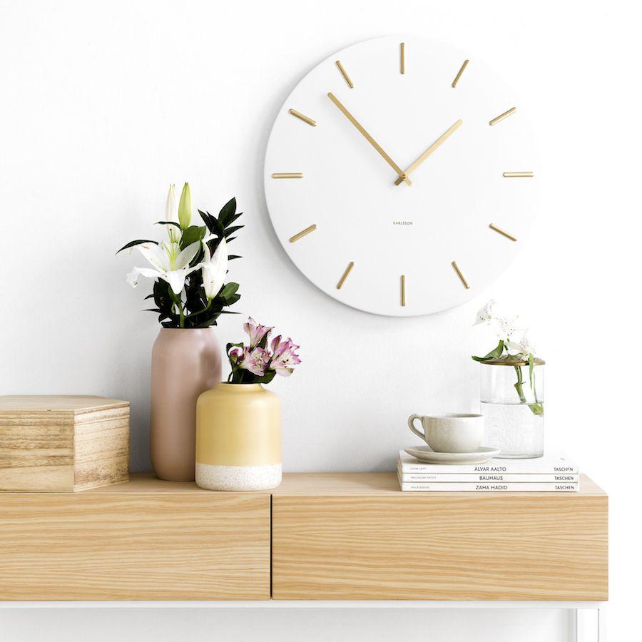 Din orologio bianco