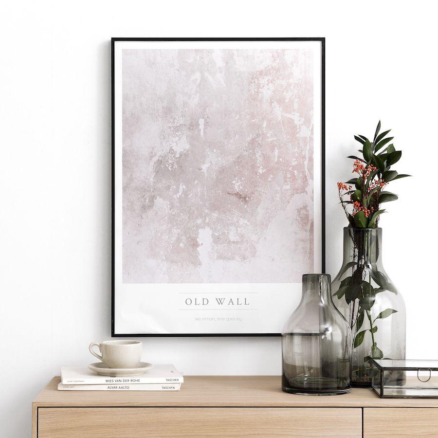 Textura Wall stampa